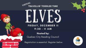 Travellin' Toddler Time: Elves @ Saint Brigid's Home - Kildare Lounge
