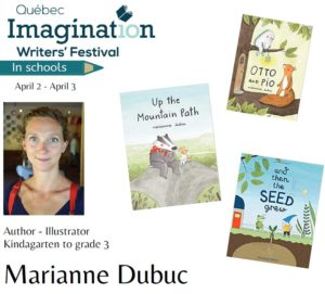 TAB Drop In: A Visit with Children's Author Marianne Dubuc - CANCELLED @ Multipurpose room in the community Wellness Centre