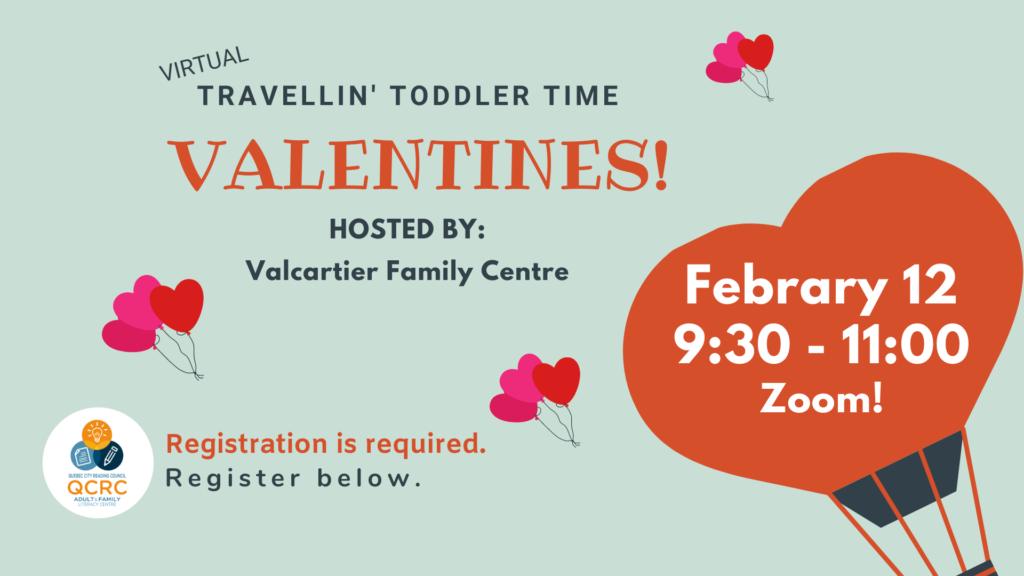 Travellin' Toddler Time: Valentines @ From the comfort of your home via teleconference