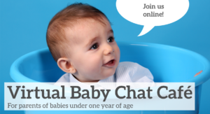 Virtual Baby Chat Café: Introducing Solids @ From the comfort of your home via teleconference