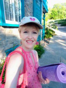 Caregivers' Café: Special Summertime Yoga Session @ The Gatehouse grounds
